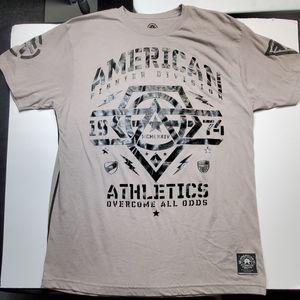 American Fighter grey XXL shirt